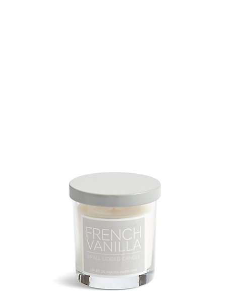 French Vanilla Small Lidded Scented Candle