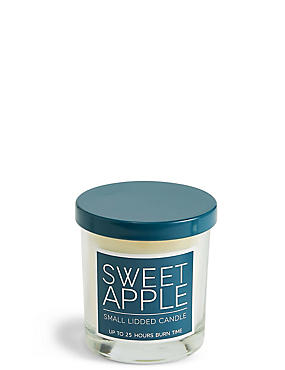 Sweet Apple Small Lidded Candle