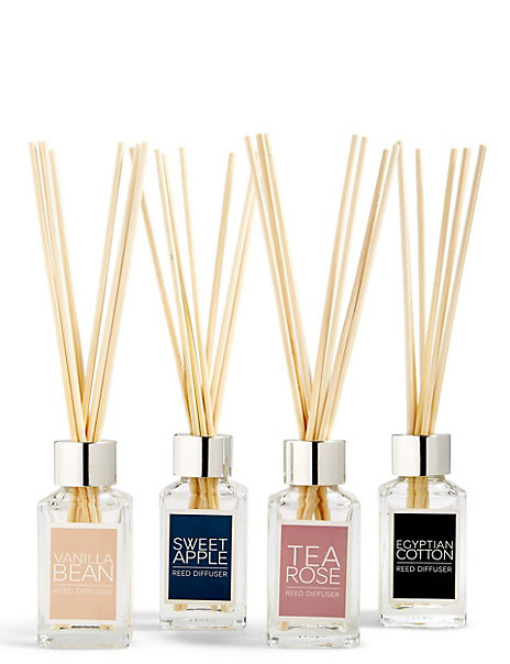 Set of 4 Multi Fragranced Diffusers