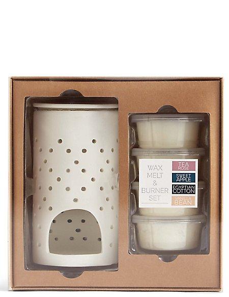 Wax Melt & Burner Gift Set