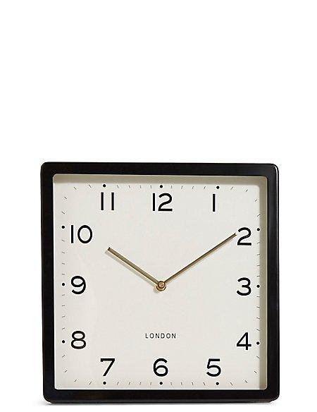 Retro Square Wall Clock