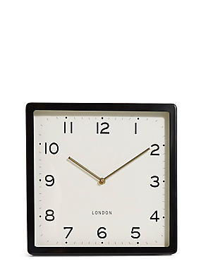 Retro Square Wall Clock