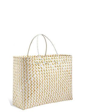 Handwoven Oversized Bamboo Bag