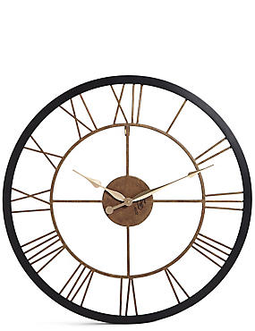 Rustic Wall Clock