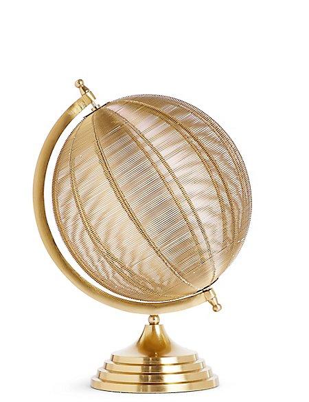 Large Wire Globe