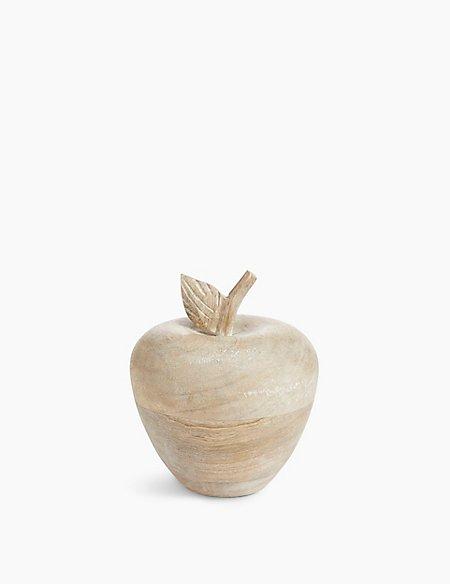 Wooden Apple Objet
