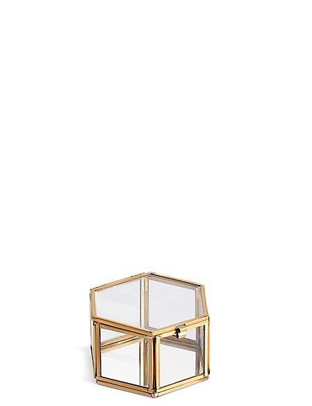 Small Hexagonal Trinket Box