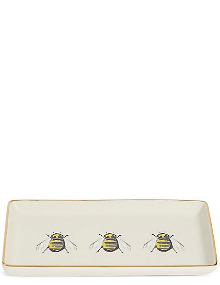 Large Bee Trinket Tray