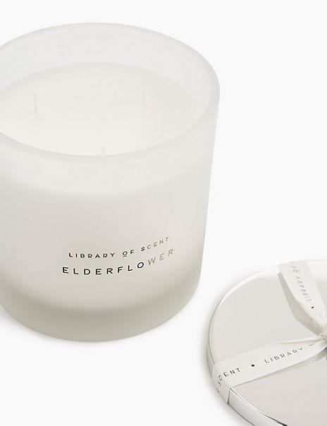 Elderflower 3 Wick Candle