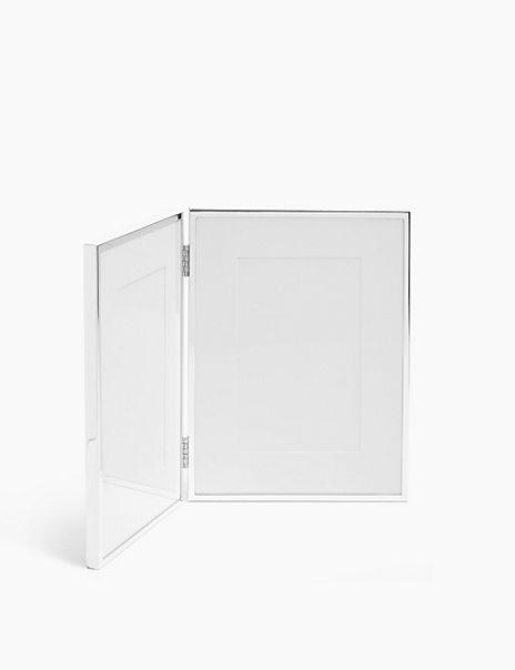 Elegant Double Photo Frame 4 x 6 inch (10 x 15cm)