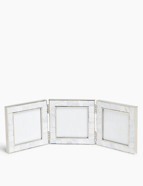 Triple Photo Frame 3 x 3 inch (8 x 8 cm)