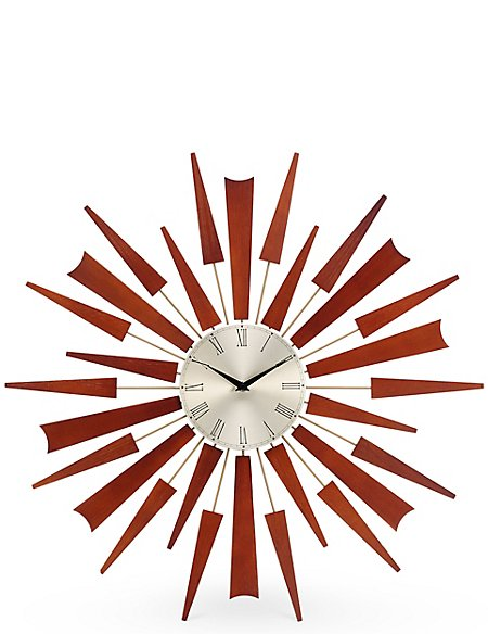 Sputnik Wall Clock