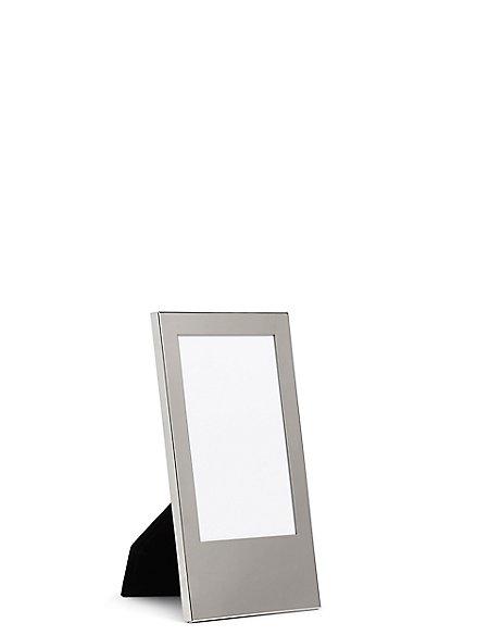 Silver Oblong Photo Frame 10 x 15cm (4 x 6inch)