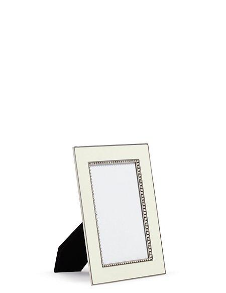 Enamel & Diamante Photo Frame 10 x 15cm (4 x 6inch)