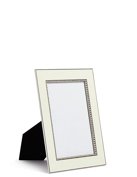 Enamel & Diamante Photo Frame 13 x 18cm (5 x 7inch)