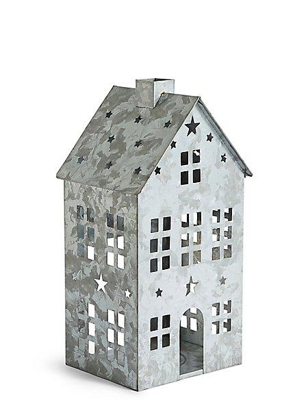 Large House Candle Holder