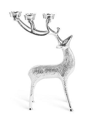 Large Stag 6 Tea Light Holder