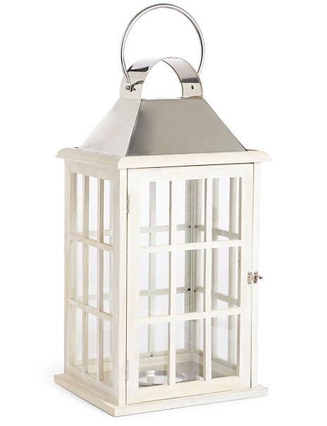Extra Large Wooden Lantern