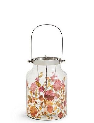 Medium Floral Lantern Marks Spencer London