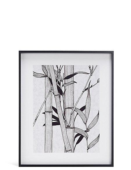 Bamboo Illustration Wall Art
