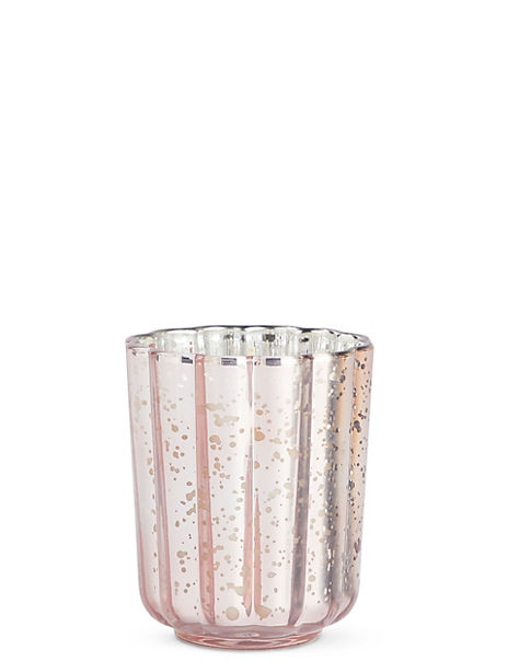 Scalloped Mercury Candle