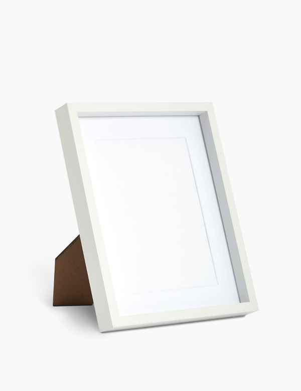 White Photo Frames Buy Plain Pictures Frame Online Ms