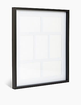 7 Aperture Multi Photo Frame