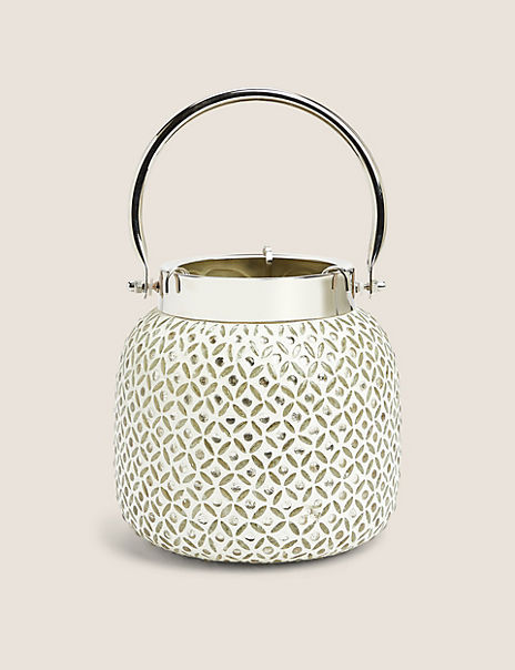 Large Beaded Lantern