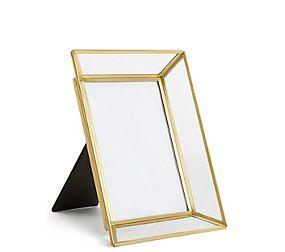 Glass & Brass Phot Frame 12 x 17cm (5 x 7 inch)