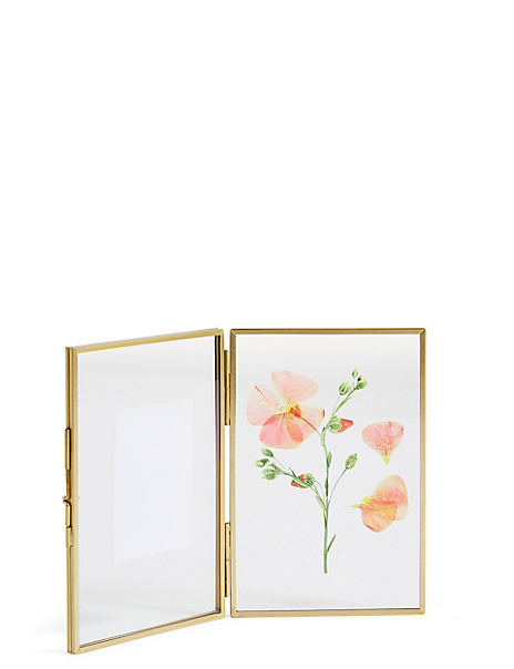Floral Photo Frame 10 x 15cm (4 x 6 inch)