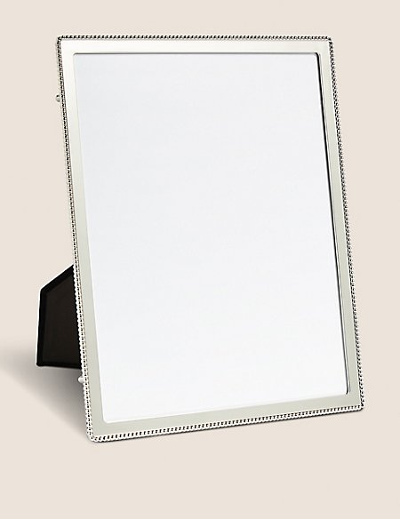 beaded emelie photo frame 20 x 25cm 8 x 10 inch m s. Black Bedroom Furniture Sets. Home Design Ideas