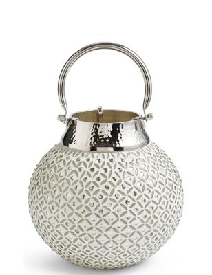 Beaded Small Lantern by Marks & Spencer