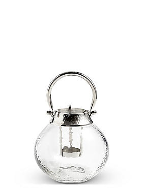 Glass & Metal Lantern