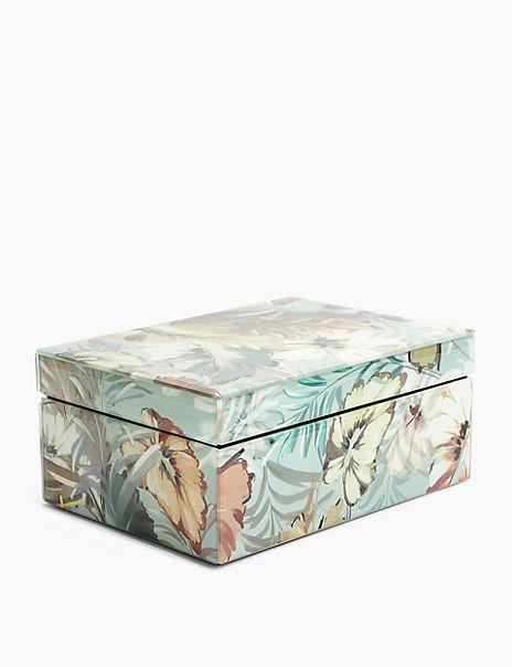 Maisie Print Trinket Box