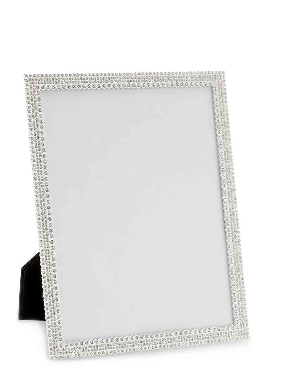 Natalie Diamanté Photo Frame 20 x 25cm (8 x 10inch) | M&S