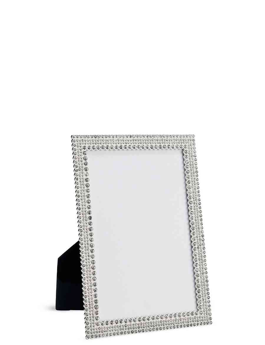 Natalie Diamanté Photo Frame 13 x 18cm (5 x 7inch) | M&S
