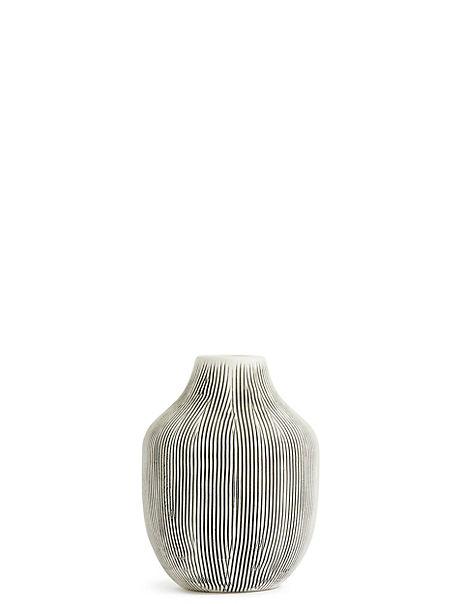 Small Linear Bulb Vase