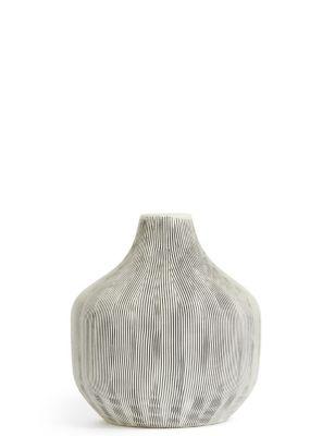 Medium Linear Bulb Vase by Marks & Spencer