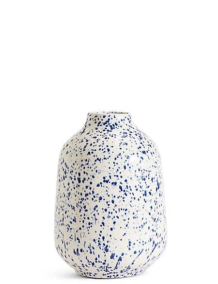 Splatter Ceramic Vase