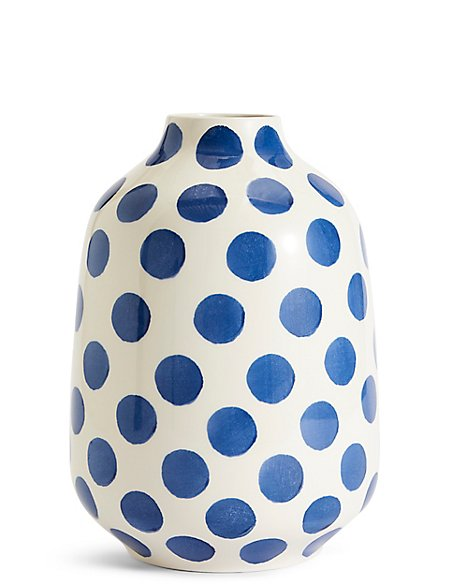 Spotted Ceramic Vase