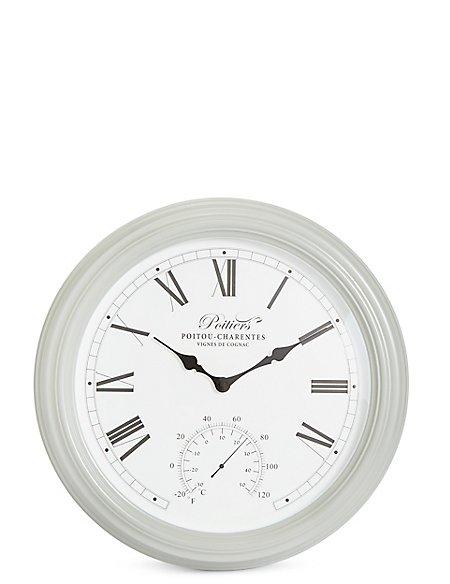 Large Poitier Wall Clock