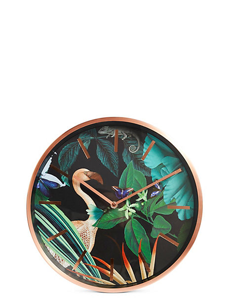 Amelie Metal Wall Clock
