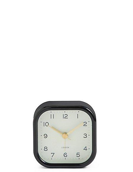 Retro Square Alarm Clock