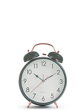 Large Twin Bell Alarm Clock