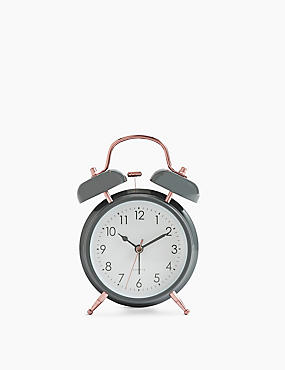 Small Twin Bell Alarm Clock