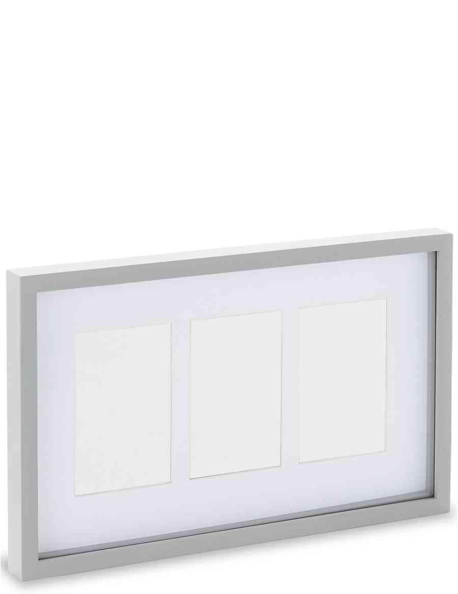 3 Aperture Photo Frame 10 x 15cm (4 x 6inch) | M&S