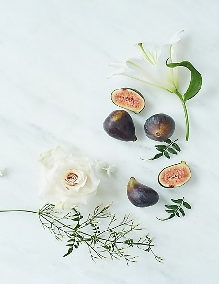 Fig Cloche & Candle