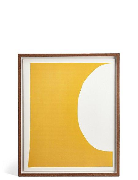 Conran Yellow Moon Wall Art
