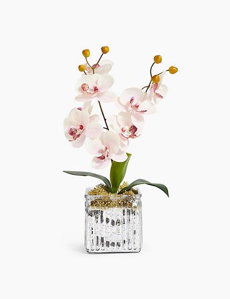 Medium Pink Orchid Cube