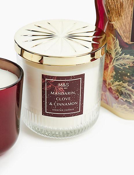 Mandarin, Clove & Cinnamon Lidded Candle